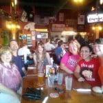 Carol, Brent, Nicole, Kerri, myself & Jenn