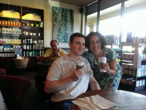 Todd & Carolyn @ Starbucks