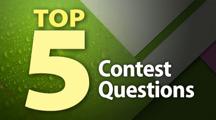 Top 5 Contest Questions