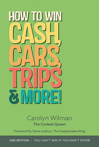 Win 1 of 3 Copies of How To Win Cash, Cars, Trips & More