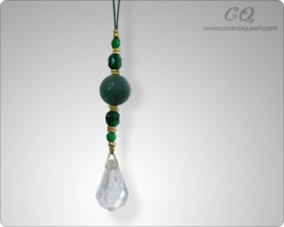 Small Green Aventurine Window Crystal