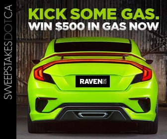 Kick Some Gas with Sweepstakes.ca & R5 Media