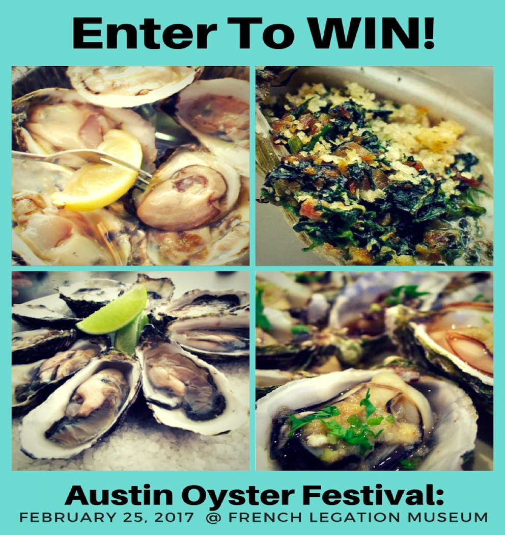 Win tickets to Austin's Oyster Festival