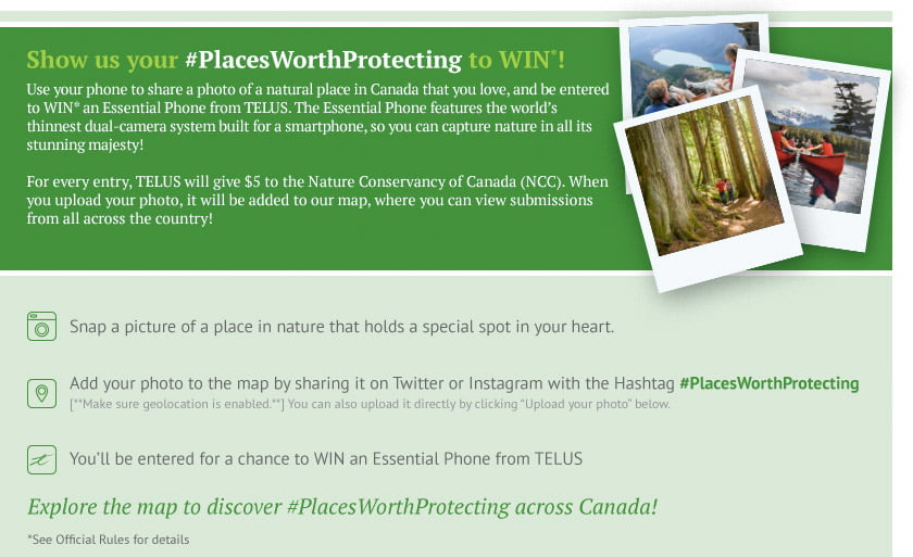 #PlacesWorthProtecting Contest