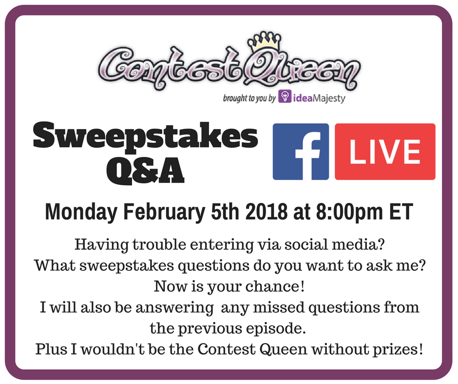 Sweepstakes Q&A