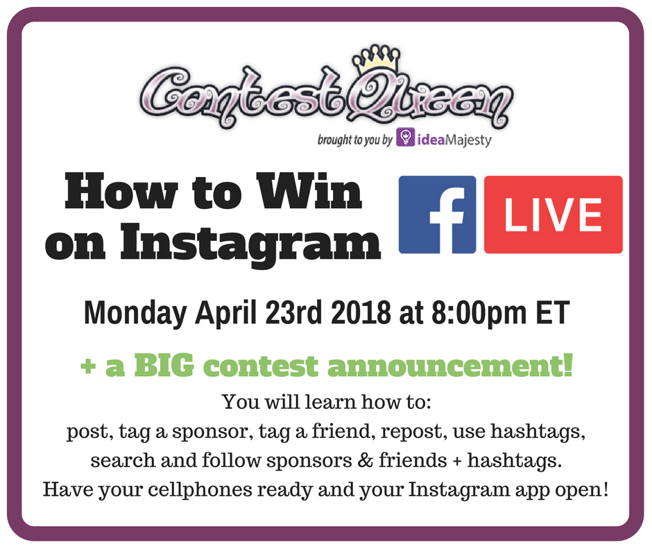 Learn How to Win on Instagram