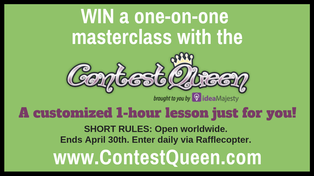 Learn How to Win Sweepstakes, One-on-One - ContestQueen com